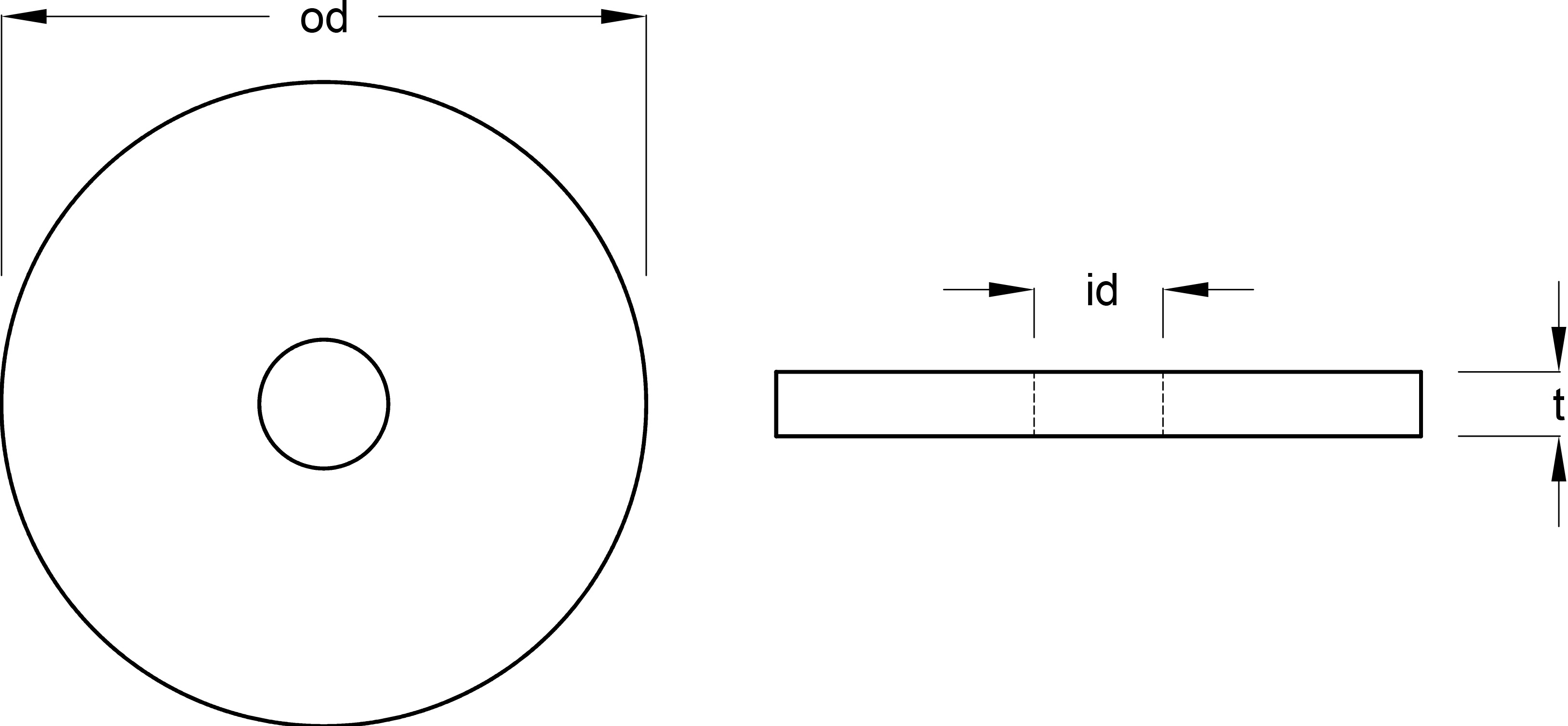 DIN 125 Form A Washers