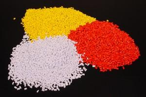 Yellow, red, white