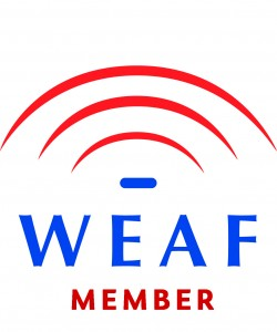 WEAF Member of logo