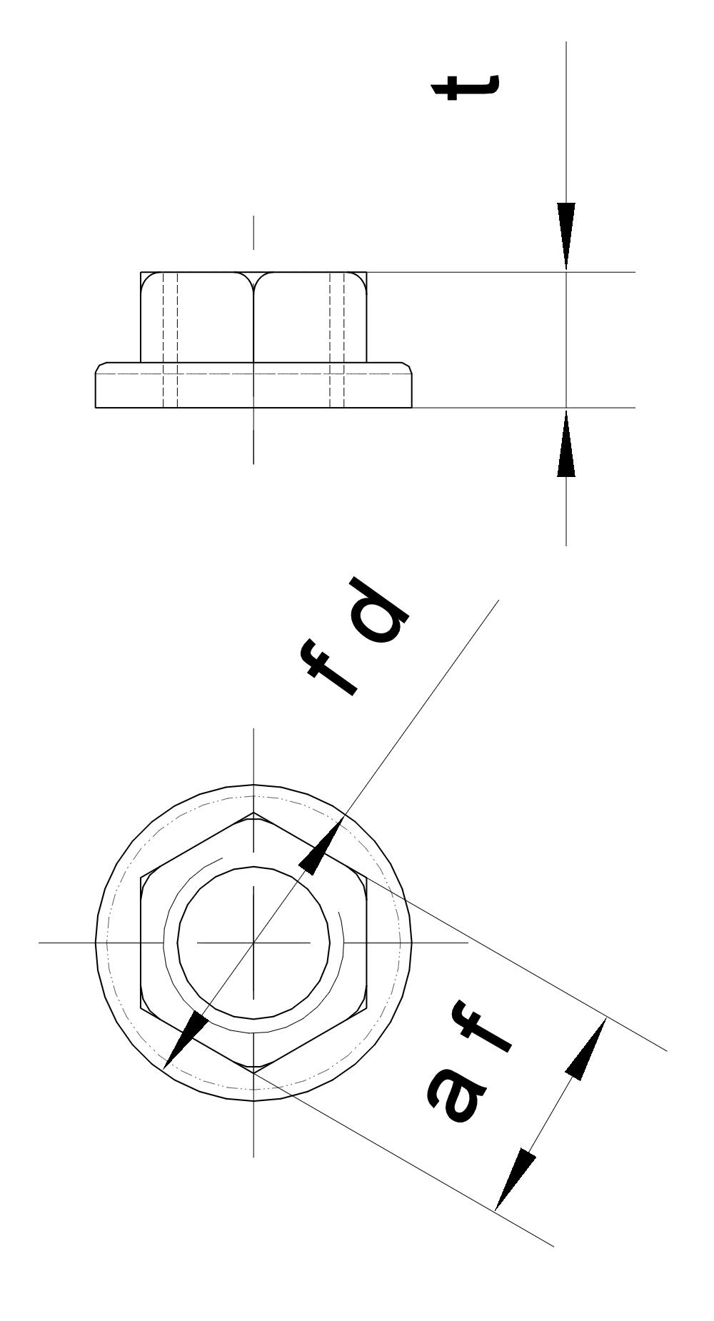 Tuerca-arandela M8
